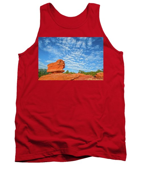 Vermillion Is The Color Of The Rock.  Tank Top