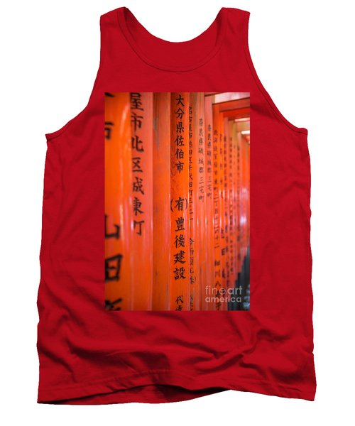 Vermillion Torii I Tank Top
