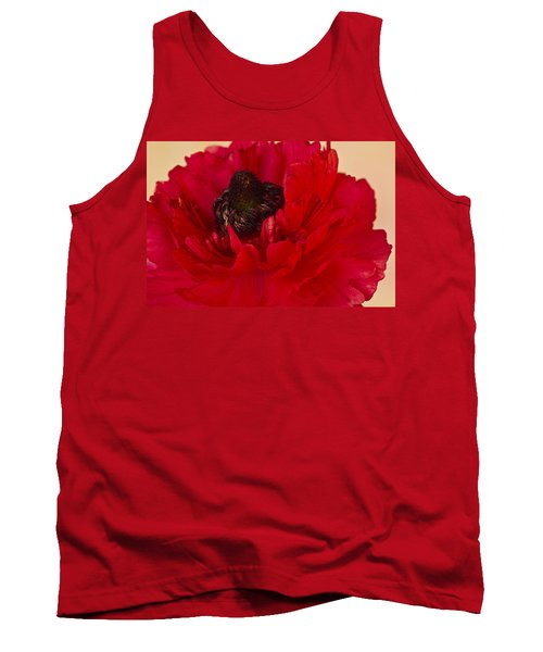 Vibrant Petals Tank Top by Sandra Foster