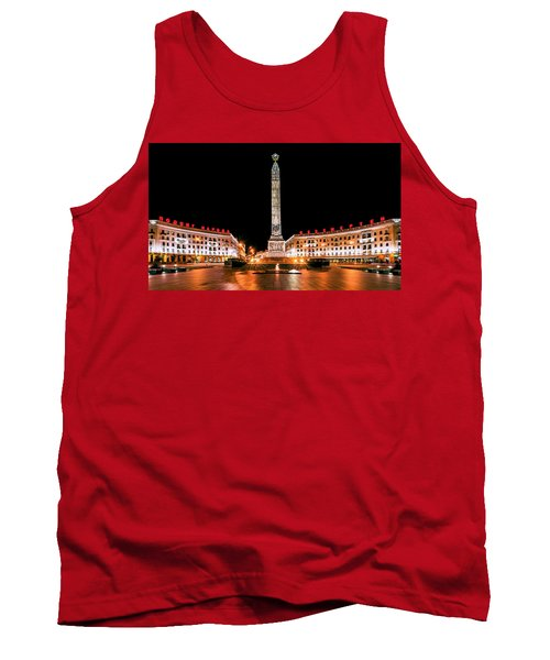 victory Square Tank Top