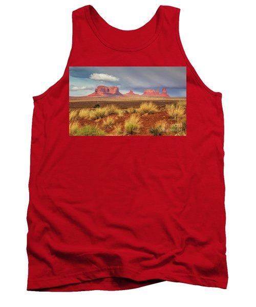 View Of Monument Valley Tank Top