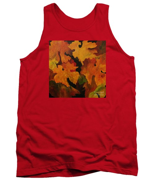 Vine Leaves Tank Top