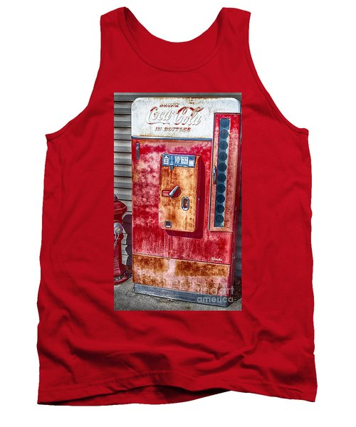 Vintage Coca-cola Machine 10 Cents Tank Top