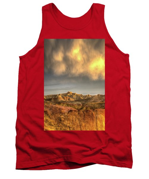 Virga Over The Badlands Tank Top