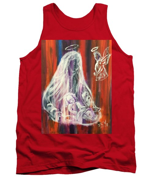Virgin Mary And Baby Jesus Tank Top