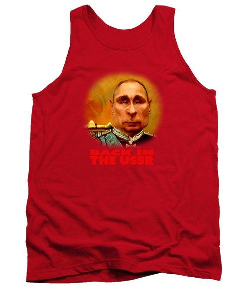Vladimir Putin Tank Top by Hans Neuhart