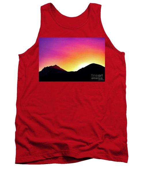 Volcanic Sunrise Tank Top