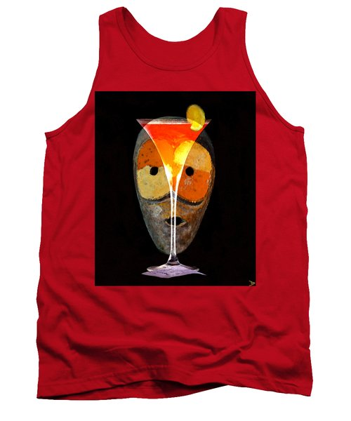 Tank Top featuring the painting Voodoo Martini by David Lee Thompson