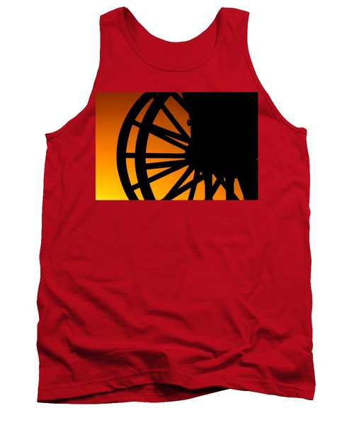 Wagon Wheel Sunset Tank Top