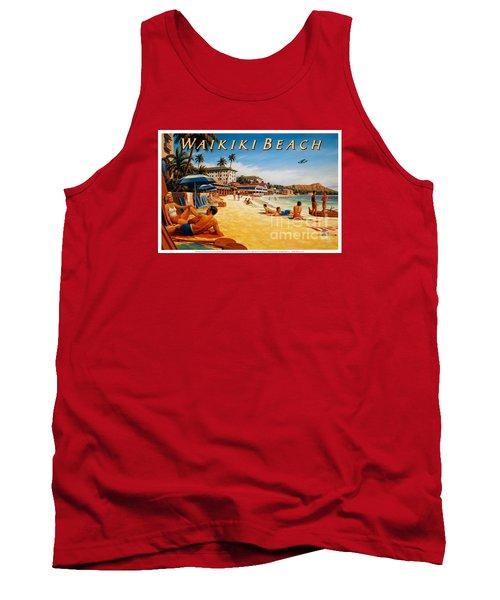 Waikiki Beach Tank Top
