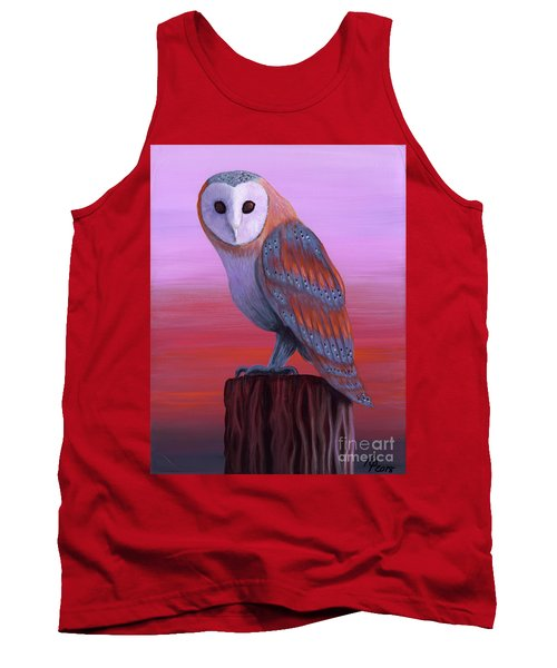 Waiting For Dusk Tank Top