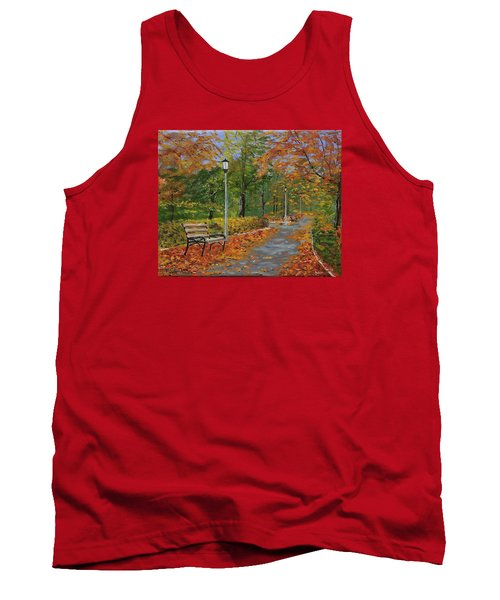 Walk In The Park Tank Top by Mike Caitham
