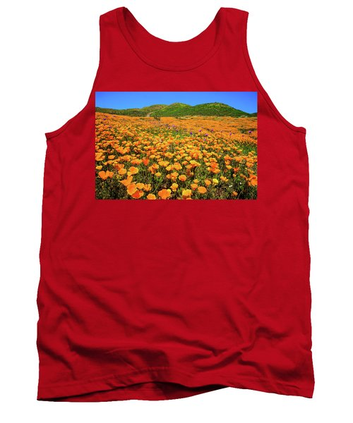 Walker Canyon Wildflowers Tank Top