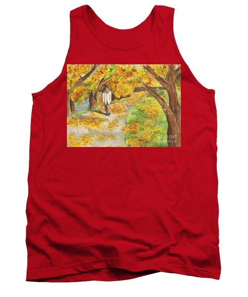 Walking The Truckee River Tank Top