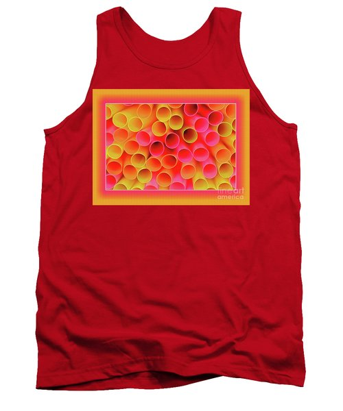 Tank Top featuring the photograph Warm In Neon By Kaye Menner by Kaye Menner