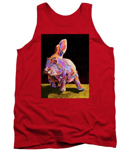 Tank Top featuring the painting Wary by Bob Coonts