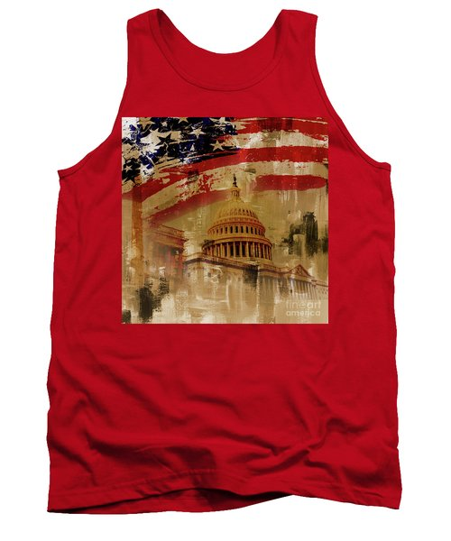 Washington Dc Tank Top by Gull G