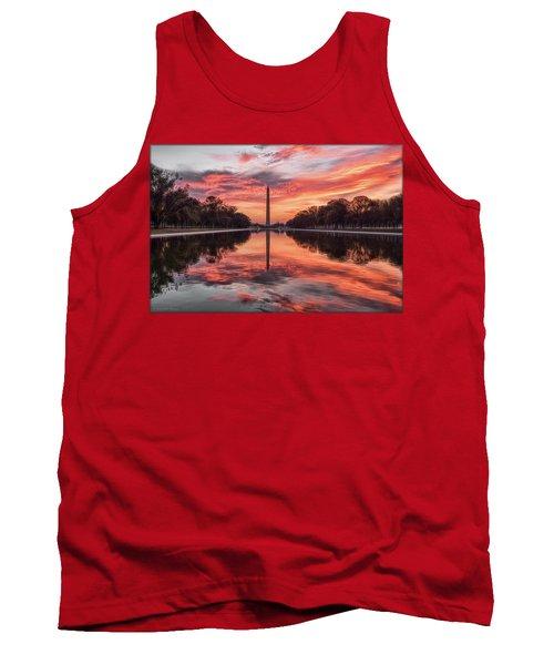 Washington Monument Sunrise Tank Top