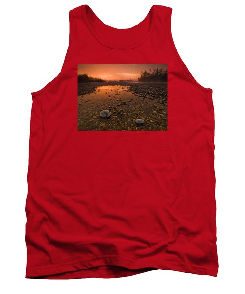 Water On Mars Tank Top
