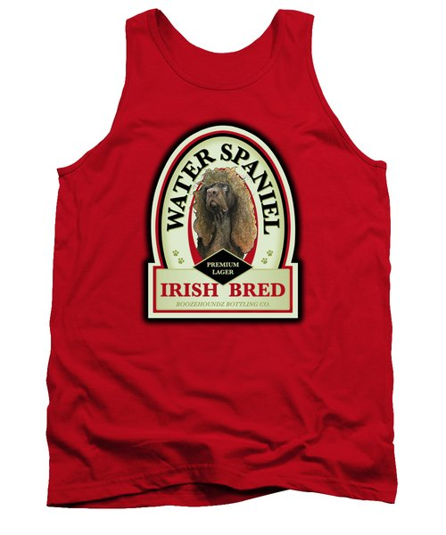 Water Spaniel Irish Bred Premium Lager Tank Top
