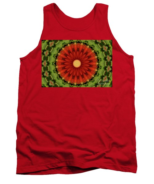 Watermelon Delight Tank Top by Sheila Ping