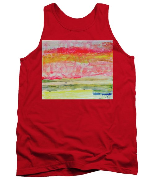 Watery Seascape Tank Top