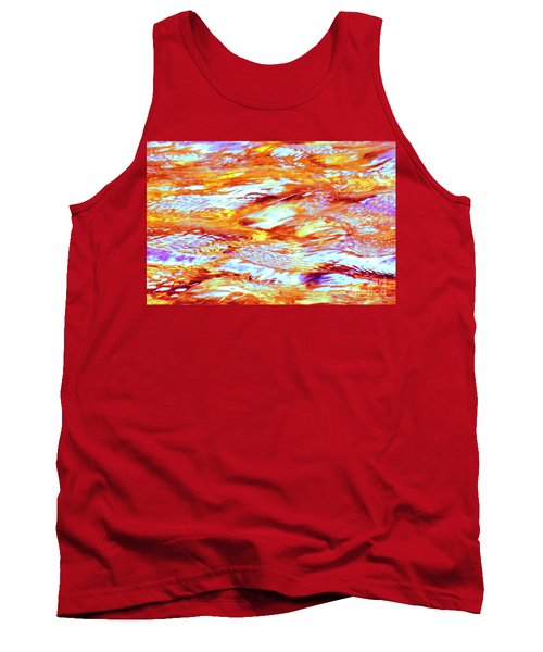 Waves Of Light Tank Top