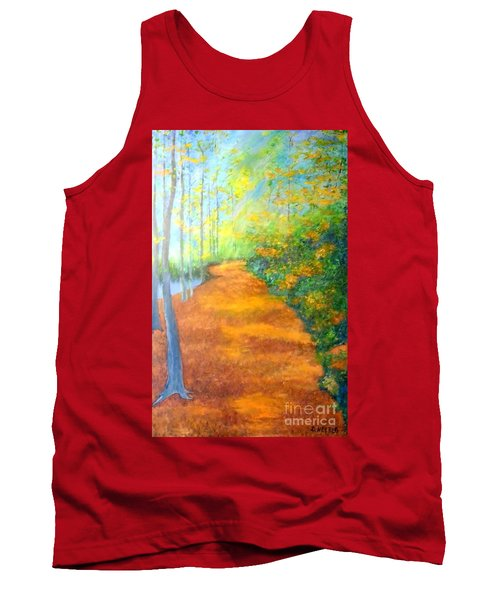Way In The Forest Tank Top