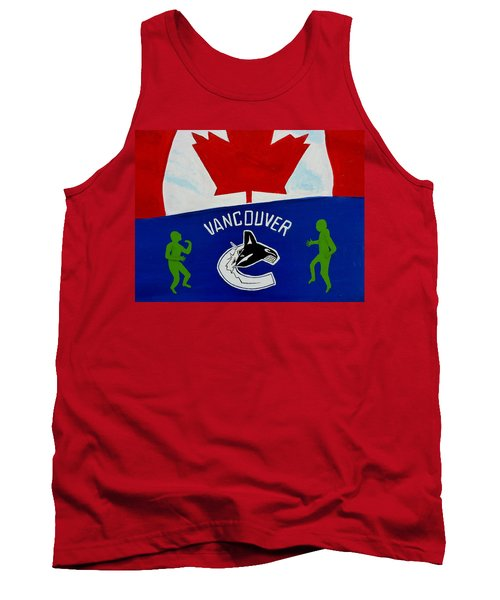 We Are All Canucks Tank Top