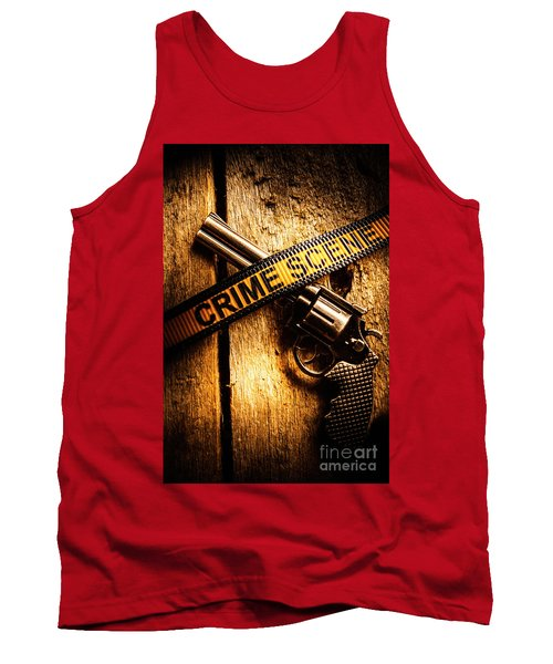 Weapon Forensics Tank Top