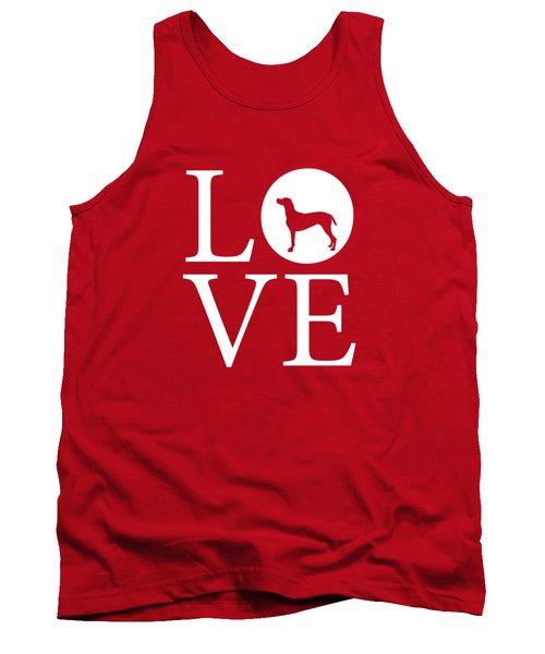 Weimaraner Love Red Tank Top