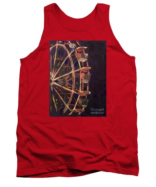 Wheel Tank Top by Joseph A Langley