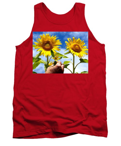 Tank Top featuring the photograph when I grow up by Trena Mara
