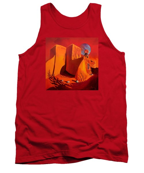 When Jupiter Aligns With Mars Tank Top by Art West