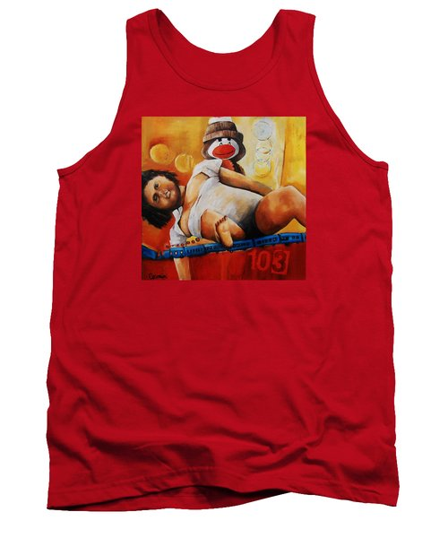 Where Old Broken Toys Go Tank Top by Jean Cormier