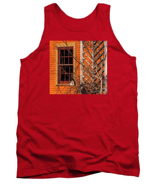 Tank Top featuring the photograph White Bird House by Trey Foerster