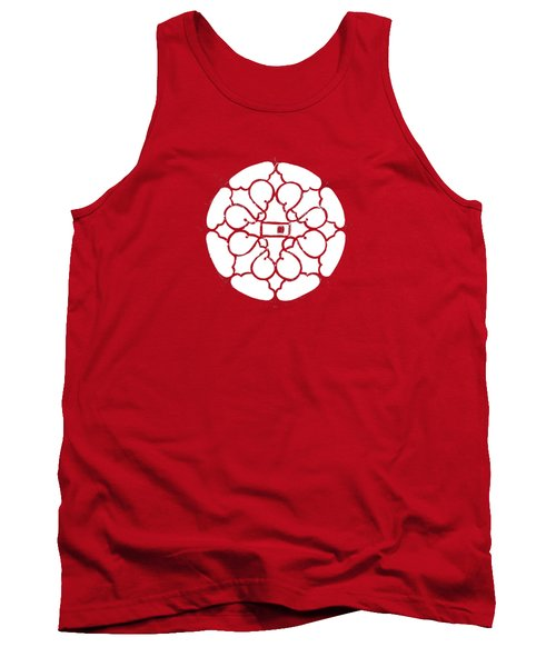 white lines on transparent background - detail - 7.10.USA-3-detail-b Tank Top
