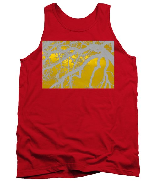 White Oak -yellow Orange Tank Top