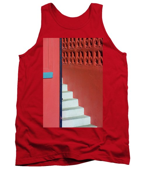 White Staircase Venice Beach California Tank Top
