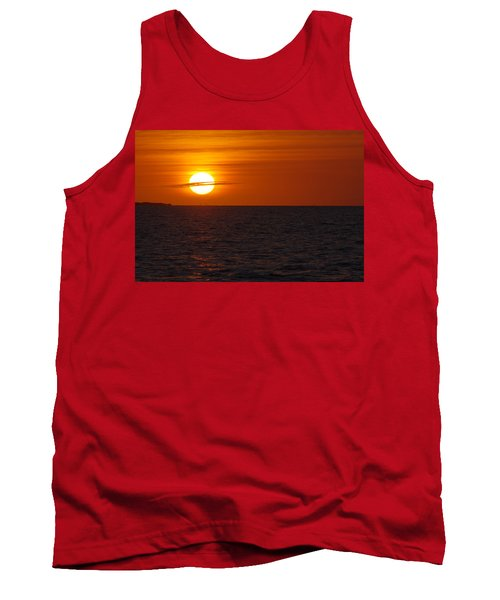 Tank Top featuring the photograph White Street Pier Sunrise by Greg Graham