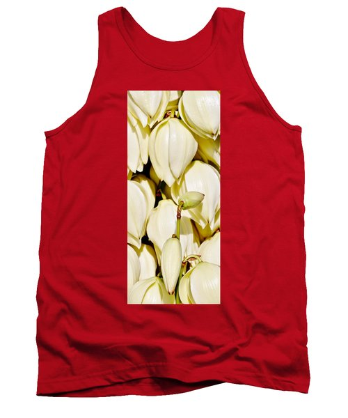 white Yucca flowers Tank Top by Werner Lehmann