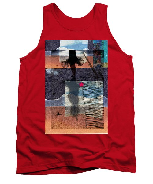 Tank Top featuring the photograph Who Doesn't Stop Till Dawn by Danica Radman