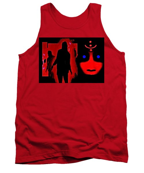 Who  Goes  There ? Tank Top