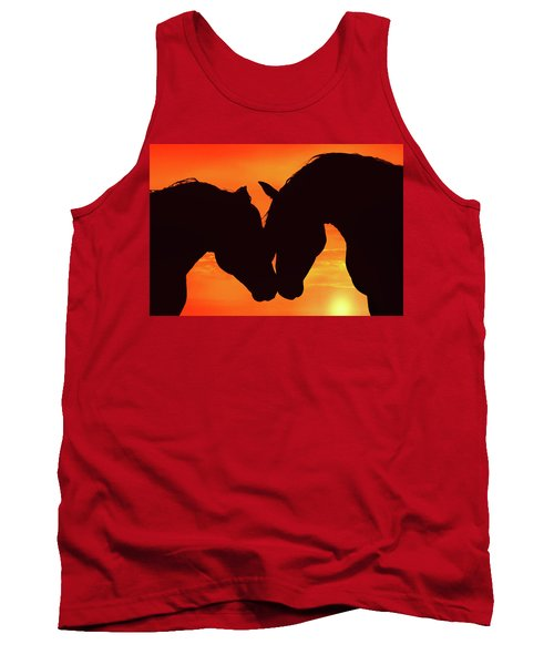 Wholeheartedly Tank Top by Iryna Goodall