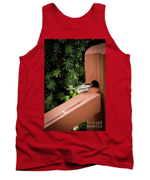 Who's In There? Tank Top