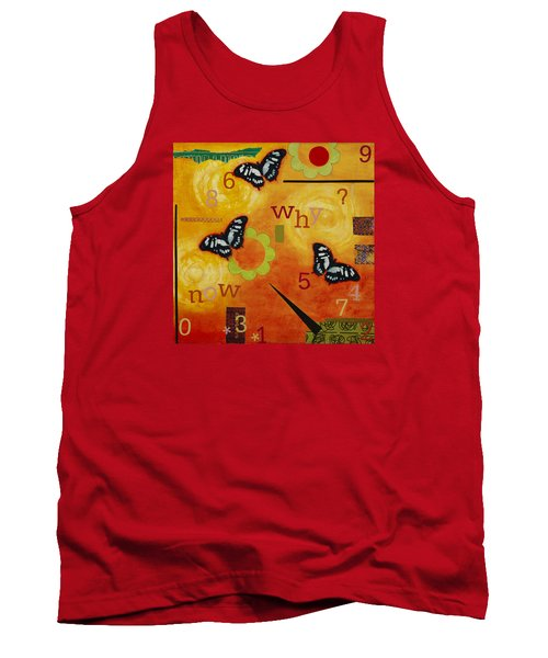 Tank Top featuring the mixed media Why by Gloria Rothrock