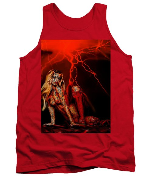 Wicked Beauty Tank Top by Tbone Oliver