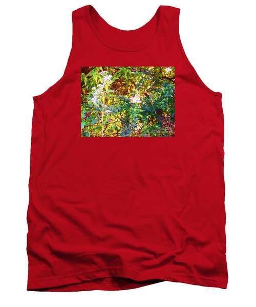 wild and Weedy Tank Top by Shirley Moravec