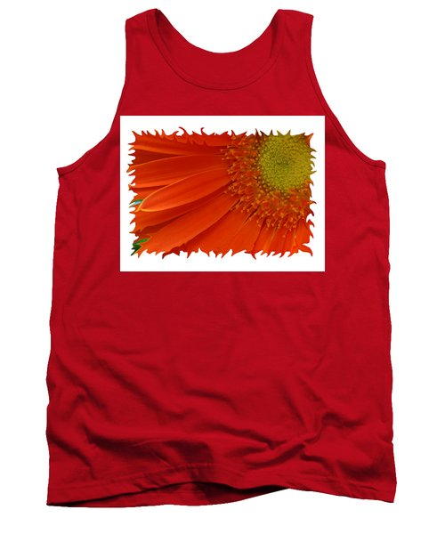 Wild Daisy Tank Top by Shari Jardina