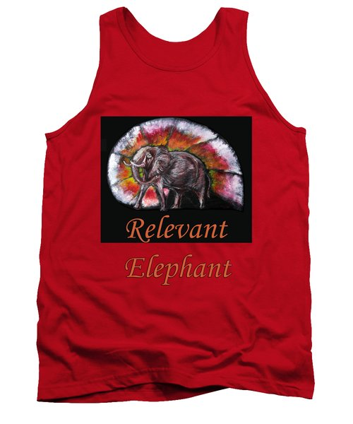 Wild Elephant Tank Top by Tom Conway